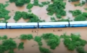India floods: Hundreds of passengers rescued from train