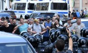 Over 200 arrested as Russian protesters demand fair polls