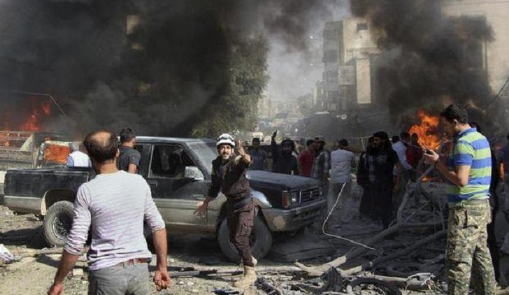 Bombardment in northwest Syria kills 9 civilians: monitor