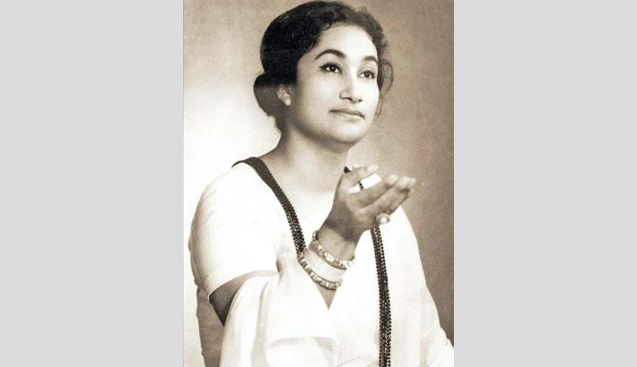 Firoza Begum's 89th birth anniversary today