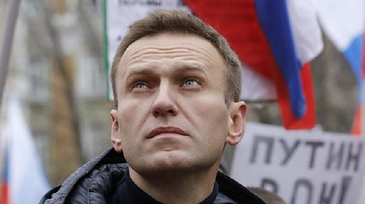 Russia opposition leader hospitalised with 'allergic reaction'