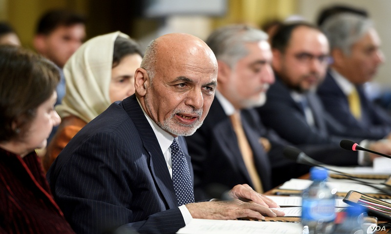 Afghan official says government will hold talks with Taliban