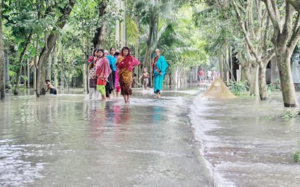 Flood situation improves in Jamalpur