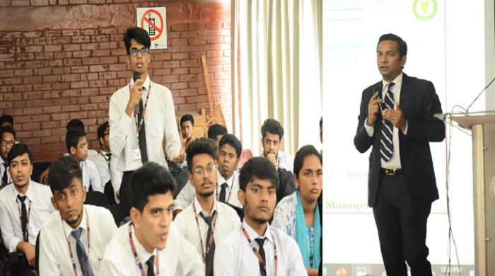 IUBAT holds seminar on tourism based career