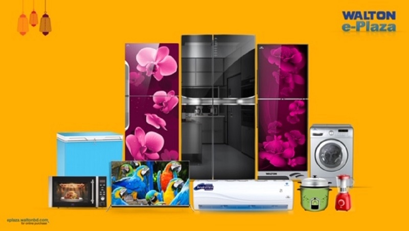 Walton offers 10 pc discounts on Fridge, AC, TV purchase