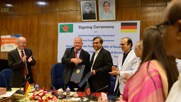 Germany provides 200 mn Euro for Bangladesh dev projects