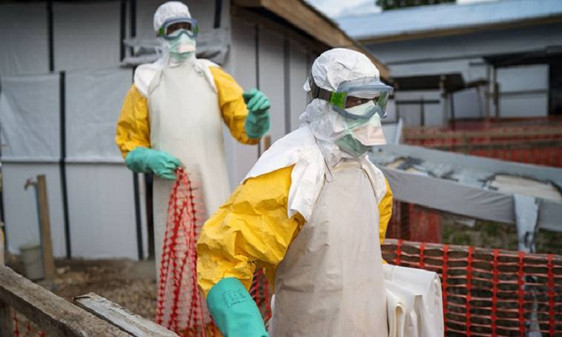 Second Ebola case detected in eastern Congo's main city