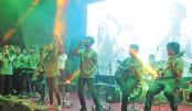 Inter-university music fest  held at NSU