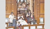 Lawmakers with disabilities take seats in Japan parliament