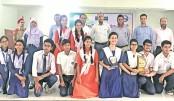 Participants of 'Inter-Ispahani School Debate Championship 2019'