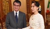 "Japan urges Myanmar to take ""more strenuous efforts"" to repatriate Rohingyas"