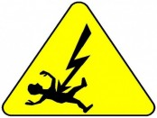 Two electrocuted in city