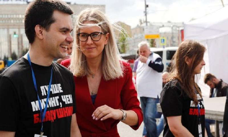 Lyubov Sobol: The woman driving Russia's opposition protests
