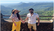 Nusrat shares honeymoon and Sindhara Dooj picture with Nikhil