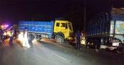 50 goats killed, 2 men injured in Savar road crash