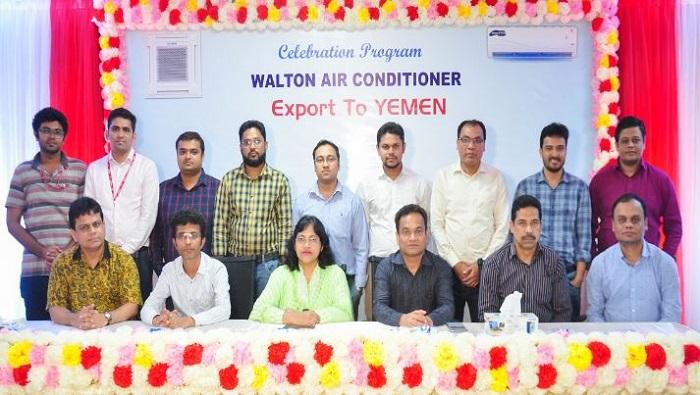 Walton exports 'Made in Bangladesh' labeled AC to Yemen