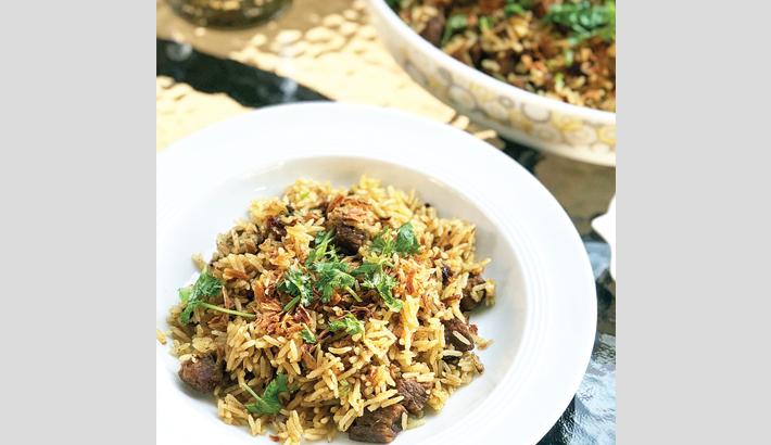Delectable Beef Dum Biriyani