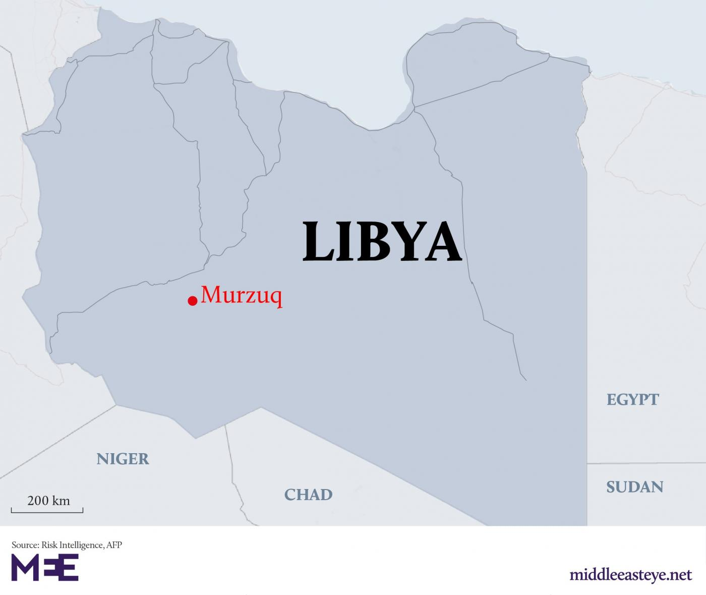 At least 43 killed in air attack on Libya's southern Murzuq, says local official