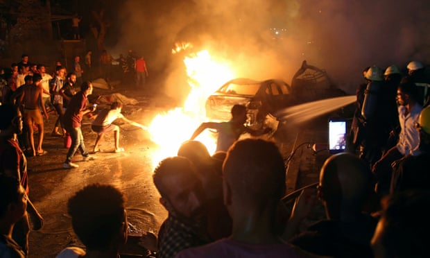 Cairo car bomb kills at least 20 outside hospital