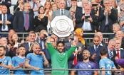 City win community shield on penalties