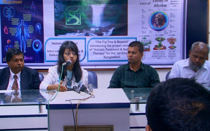 Seminar on Holistic Treatment & Nutrition Therapy held at DRU