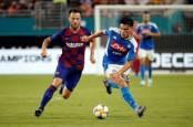 Rakitic lifts Barcelona over Napoli in Miami matchup