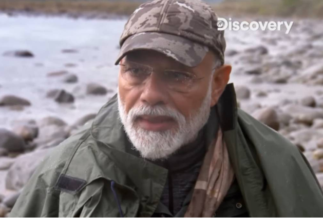 Modi talks about cleanliness in Man vs Wild (Video)