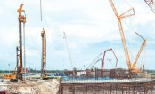 Concrete works of 2nd Rooppur turbine hall completed