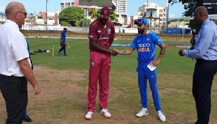 India choose to bat against West Indies in second ODI