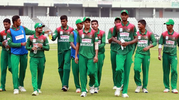 Junior Tigers set 262-run target for Indian youth