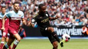 Raheem Sterling treble fires Manchester City to 5-0 rout of West Ham