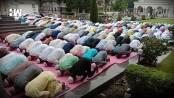 People celebrate Eid al-Azha amid heightened security