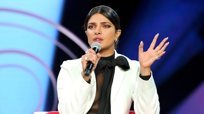 Priyanka Chopra accused of 'encouraging nuclear war' over tweet as tensions between India and Pakistan escalate