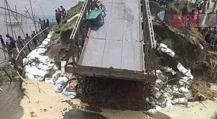 Six go missing as bridge collapses in Jamalpur