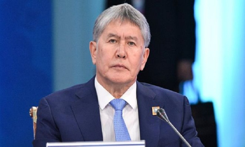 Ex-Kyrgyz President Almazbek Atambayev charged with murder