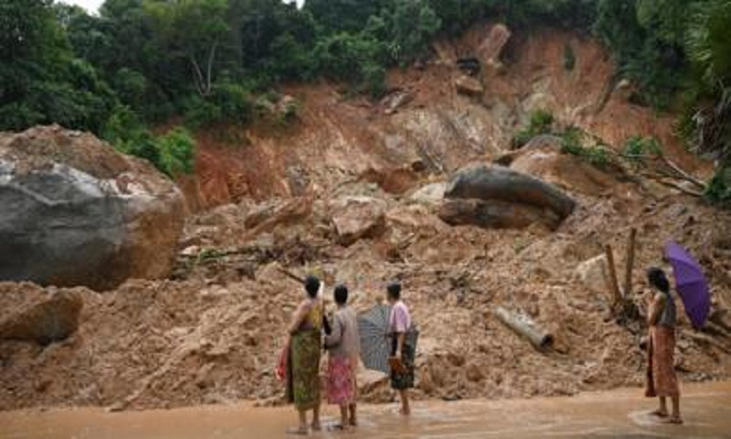 Myanmar landslide death toll rises to 59