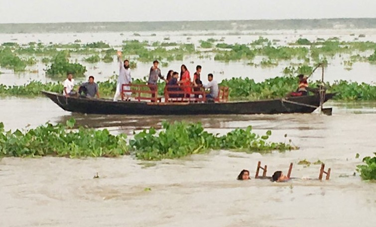 Two die, six missing as boat carrying wedding party capsizes in Jamuna