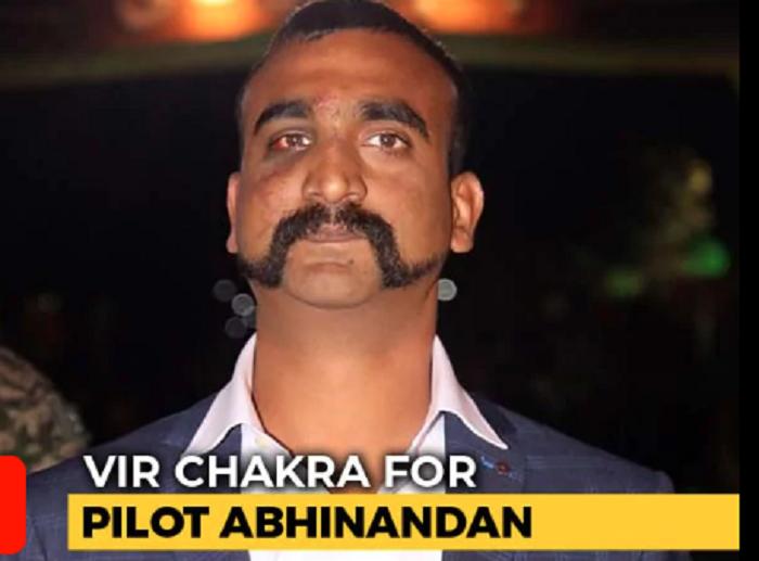 Pilot Abhinandan Varthaman to be awarded Vir Chakra