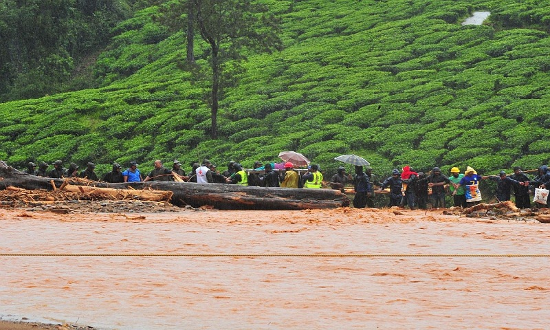 95 dead, 59 missing in Kerala floods