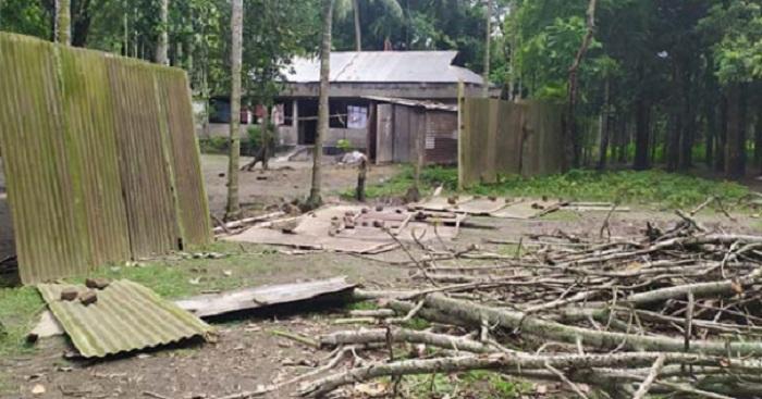 SC judge's village home vandalised, local AL leader held