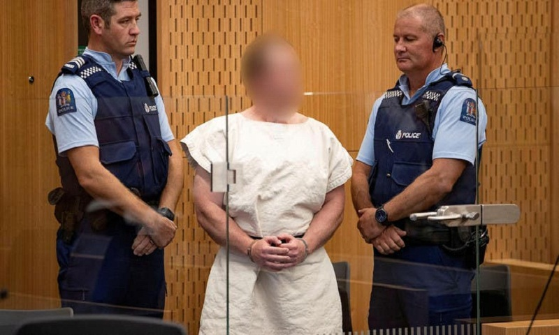 Alleged Christchurch gunman sends letter from prison cell