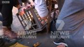 Sydney stabbing: Dramatic video shows suspect's arrest