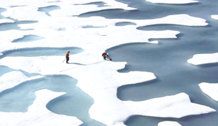 Scientists find micro plastic in Arctic ice