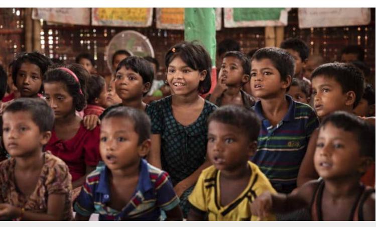 Unicef seeks urgent investment in education of Rohingya children