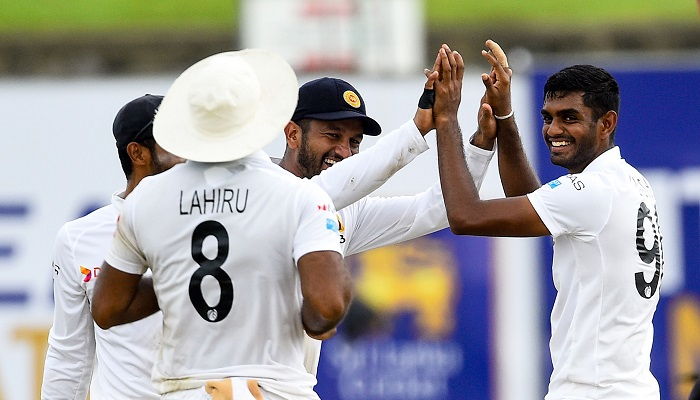 Sri Lanka restrict New Zealand lead to 106 in first Test