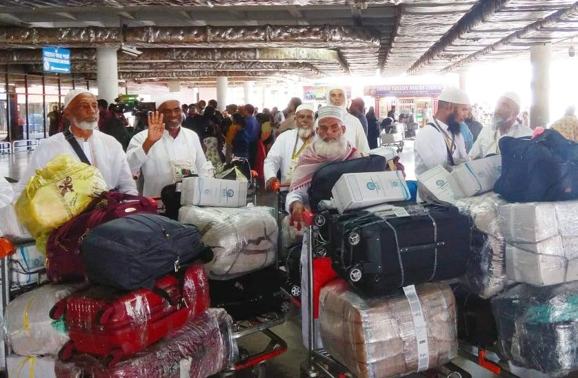 First return hajj flight reaches Dhaka