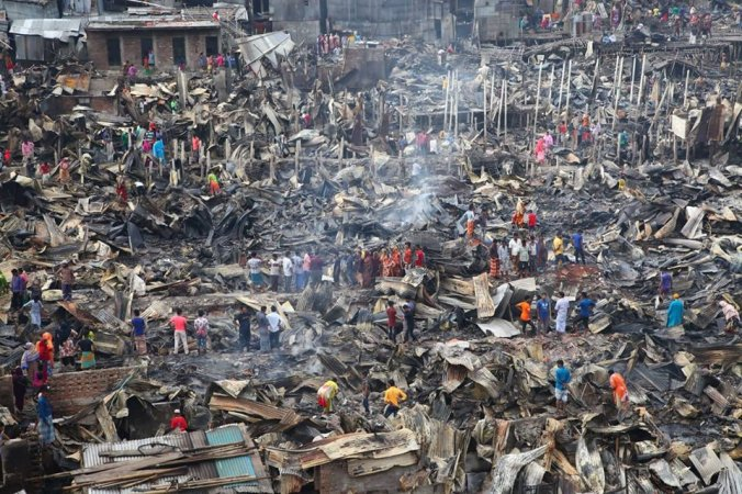 3-member probe body formed over Mirpur slum fire