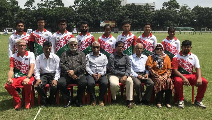 Bangladesh team leaves for Madrid on Saturday to compete Archery Youth Champs