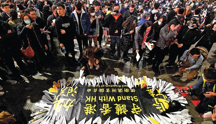 Hong Kong response 'won't repeat' Tiananmen: Chinese media
