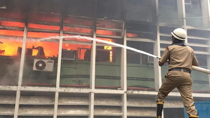 Fire at AIIMS in Delhi brought under control
